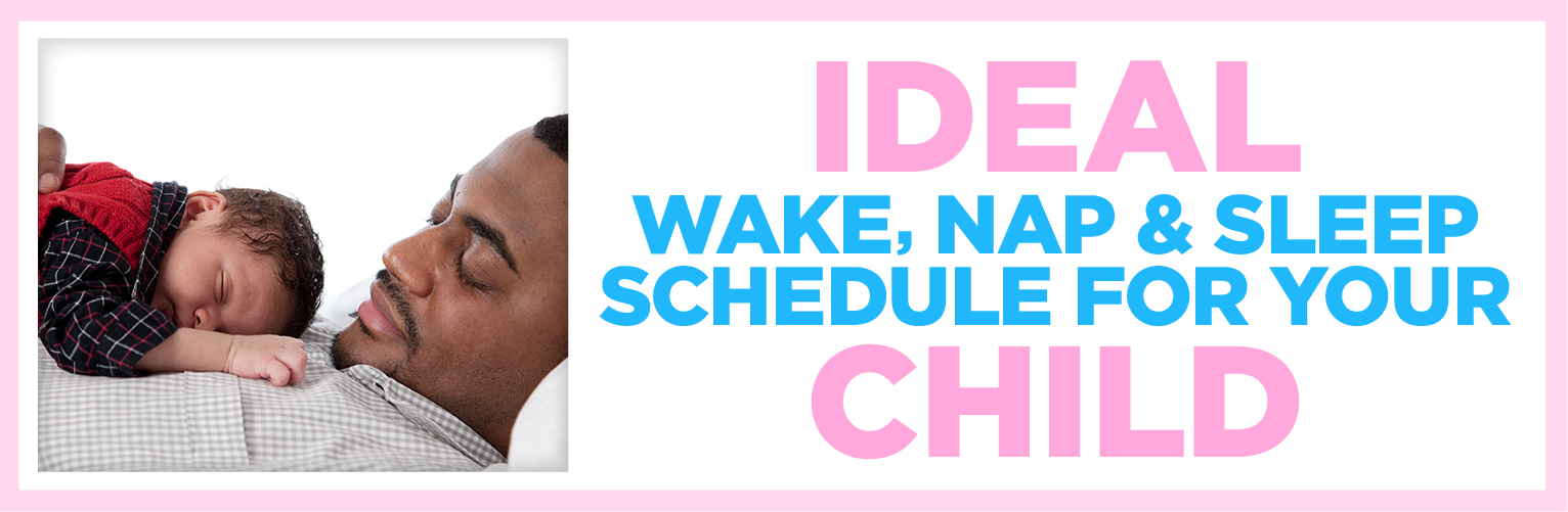 The Ideal Wake, Nap & Sleep Schedule for your Child