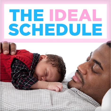 The Ideal Wake, Nap and Sleep Schedule for Your Child