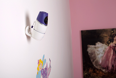 Mounting Evoz Smart Baby Monitor