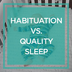 Habituation vs. Quality Sleep: Jessica and her adorable son sail through month two!