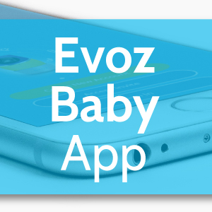 Our new and improved Evoz Baby App: The Evoz Smart Baby Monitor, now even smarter!