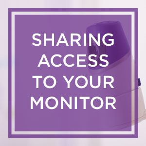 Everyone wants to see the baby! Sharing access to your Evoz monitor